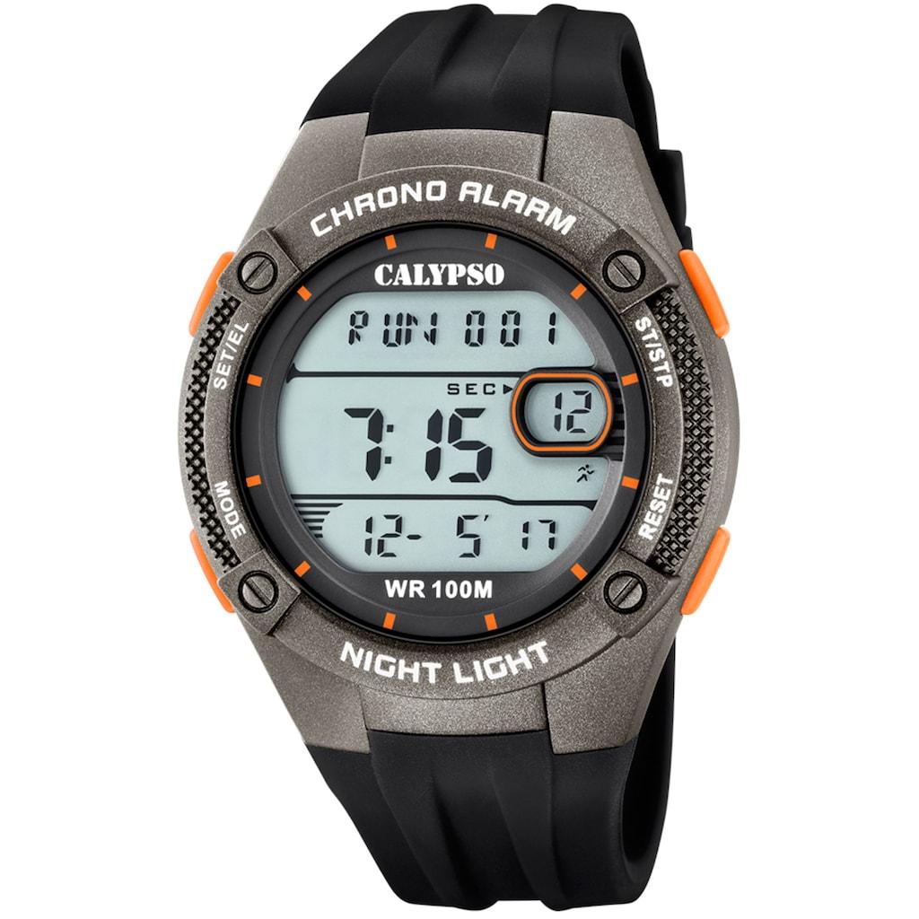 CALYPSO WATCHES Chronograph »Digital For Man, K5765/4«