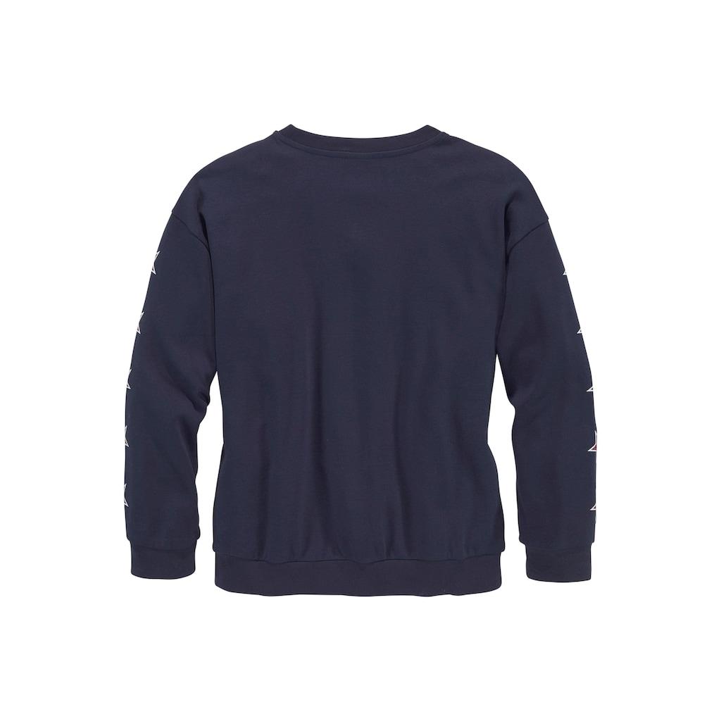 Arizona Langarmshirt, modisch extra-weite Boyfriendform