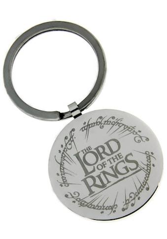 Der Herr der Ringe Schlüsselanhänger »THE LORD OF THE RINGS mit elbischen Runen,... kaufen