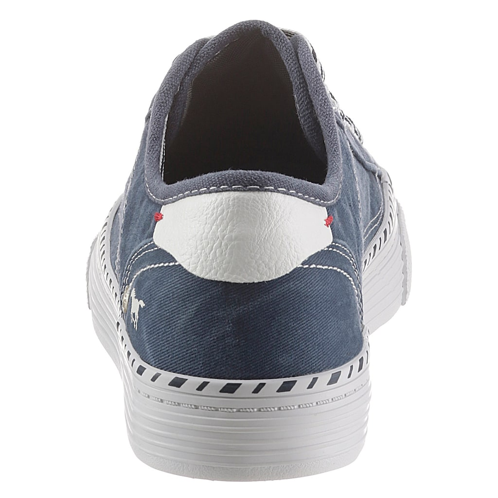 Mustang Shoes Sneaker, mit 3 cm Plateausohle
