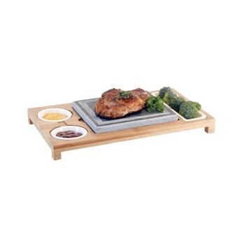 Hot Stone Platte, Nouvel, »Holz« (5tlg.) kaufen
