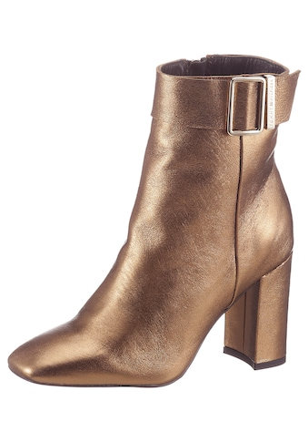 TOMMY HILFIGER High - Heel - Stiefelette »METALLIC SQUARE TOE BOOT« kaufen