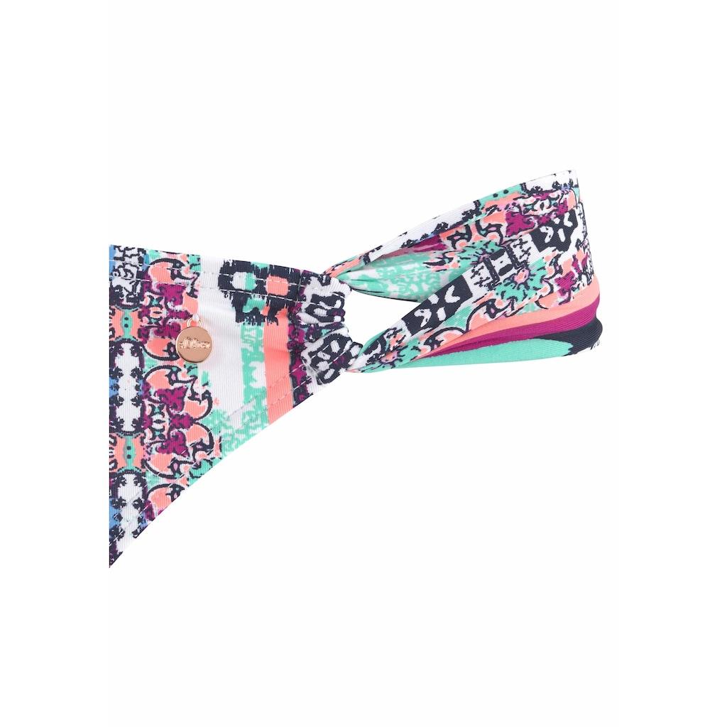 s.Oliver Beachwear Push-Up-Bikini, mit Wickeloptik