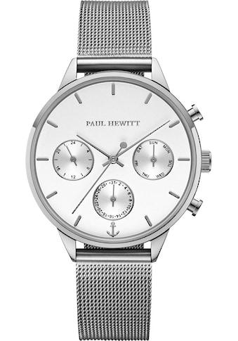PAUL HEWITT Multifunktionsuhr »Everpulse White Sand Silberfarben Mesh, PH002814« kaufen