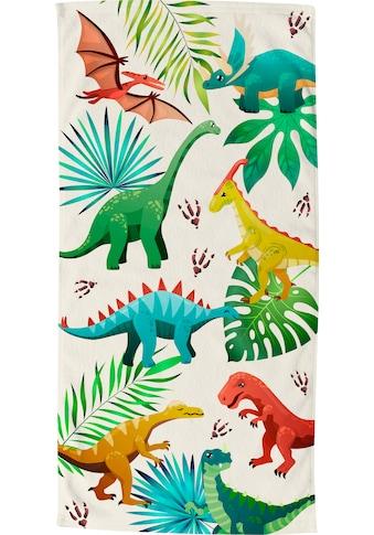 good morning Strandtuch »Dinos«, (1 St.), trocknet schnell kaufen