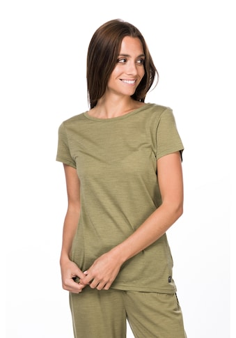 SUPER.NATURAL T-Shirt »W EVERYDAY TEE«, perfekter Merino-Materialmix kaufen