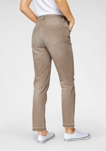 MAC Ankle - Jeans »Melanie  - Pipe - Fringes« kaufen