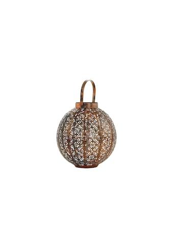 EGLO LED Gartenleuchte »Laterne SOLAR 48772 Kupfer Kugel« kaufen