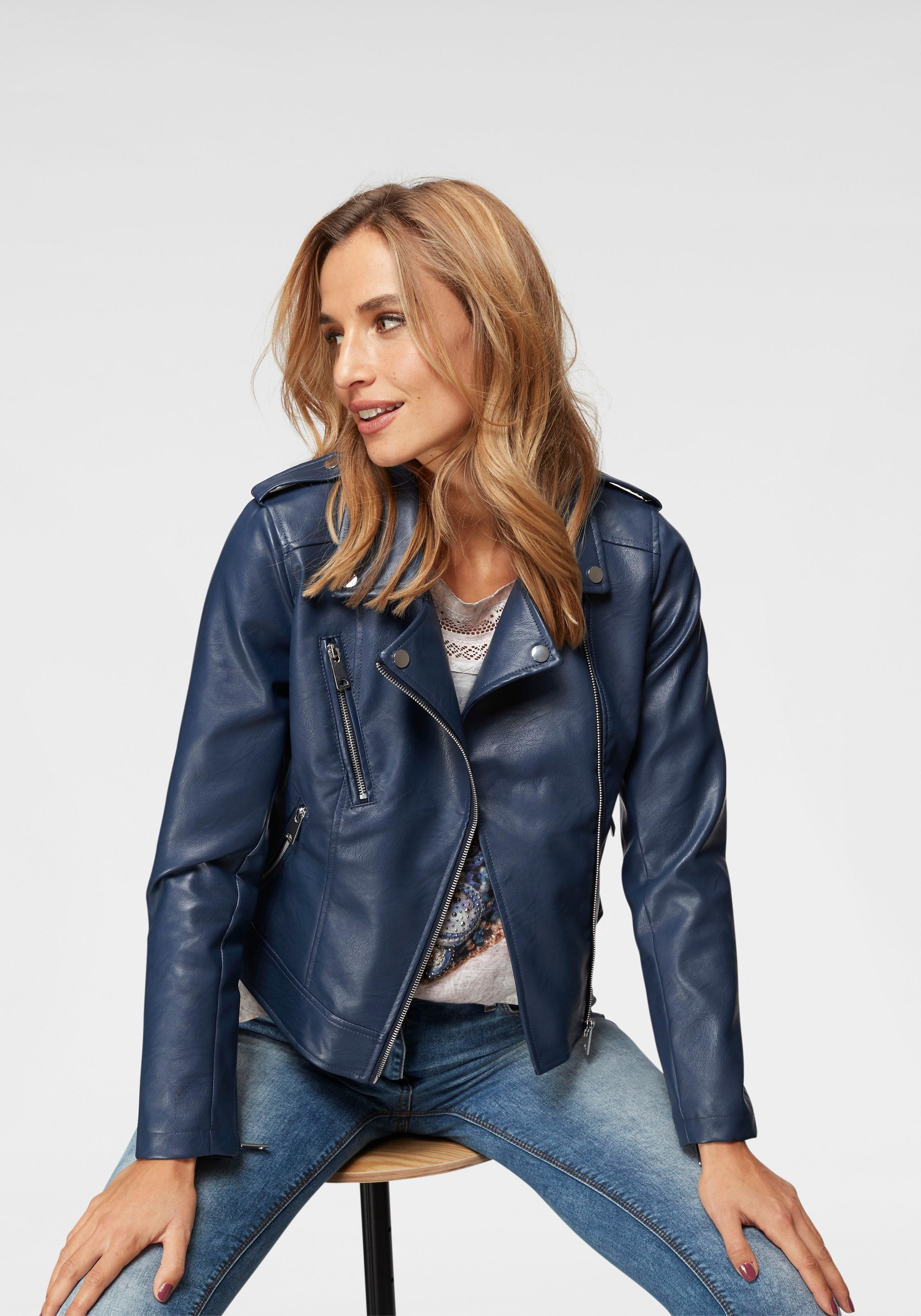 Image of Aniston CASUAL Bikerjacke