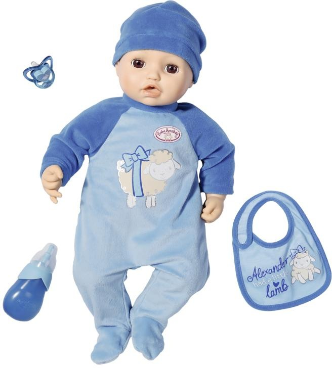 Image of Baby Annabell Babypuppe »Alexander, 43 cm«, interaktiv mit Schlafaugen