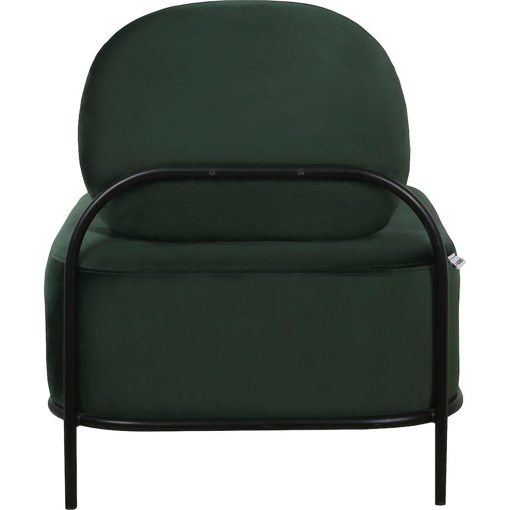 COUCH♥ Sessel »Premium Platz«, Sitz- und Rücken gepolstert