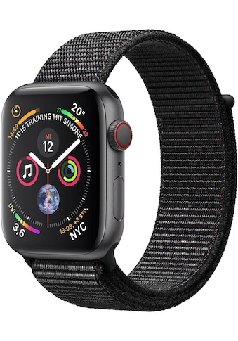 Series 4 GPS + Cellular, Aluminiumgehäuse mit Sportarmband Loop 40 mm Watch, Apple kaufen