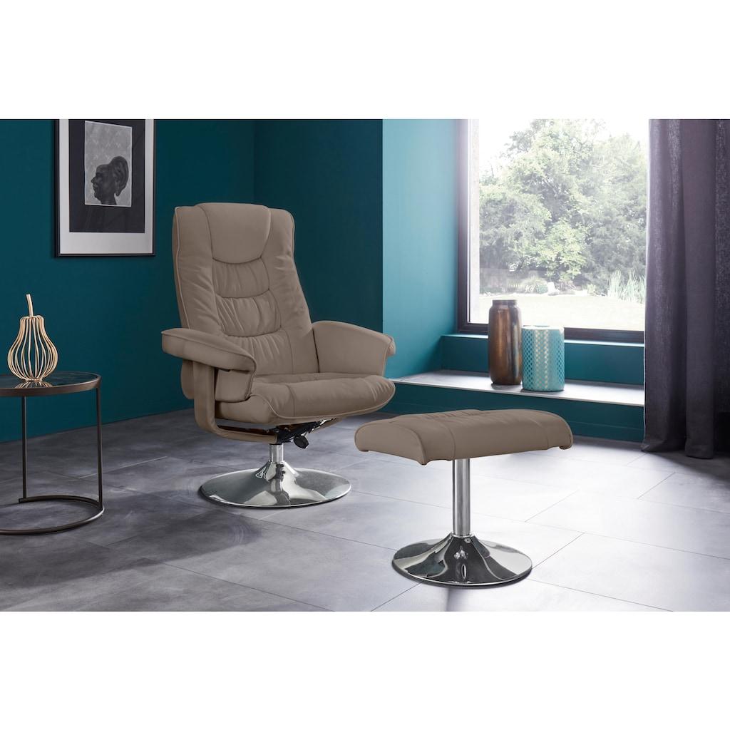 Places of Style Relaxsessel »Springfield«, mit vielen Funktionen, in zwei verschiedenen Bezugsqualitäten verfügbar
