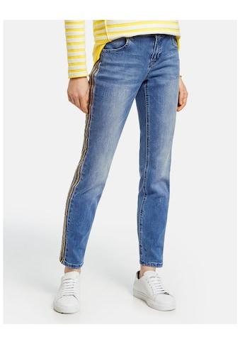 Taifun Hose Jeans verkürzt »Jeans mit Kontrastnaht Skinny TS« kaufen