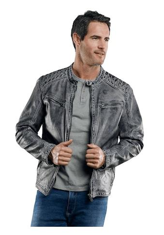 Engbers Rustikale Lederjacke kaufen
