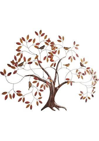 Home affaire Wanddekoobjekt »Baum«, aus Metall kaufen