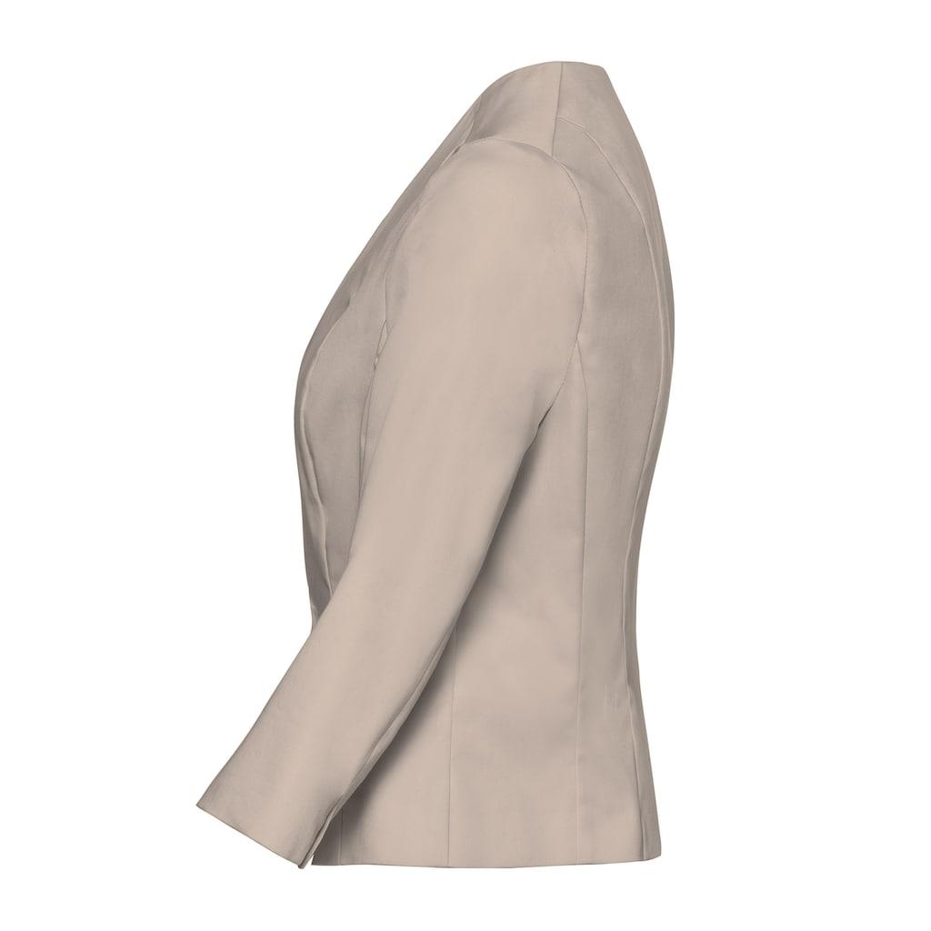 bianca Kurzblazer »CAROLIN«, cleaner Look mit 3/4 Arm