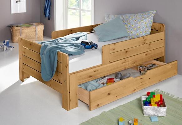 Jugendbett aus Holz