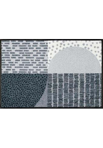 wash+dry by Kleen-Tex Fussmatte »Montos«, rechteckig, 7 mm Höhe, Schmutzfangmatte kaufen