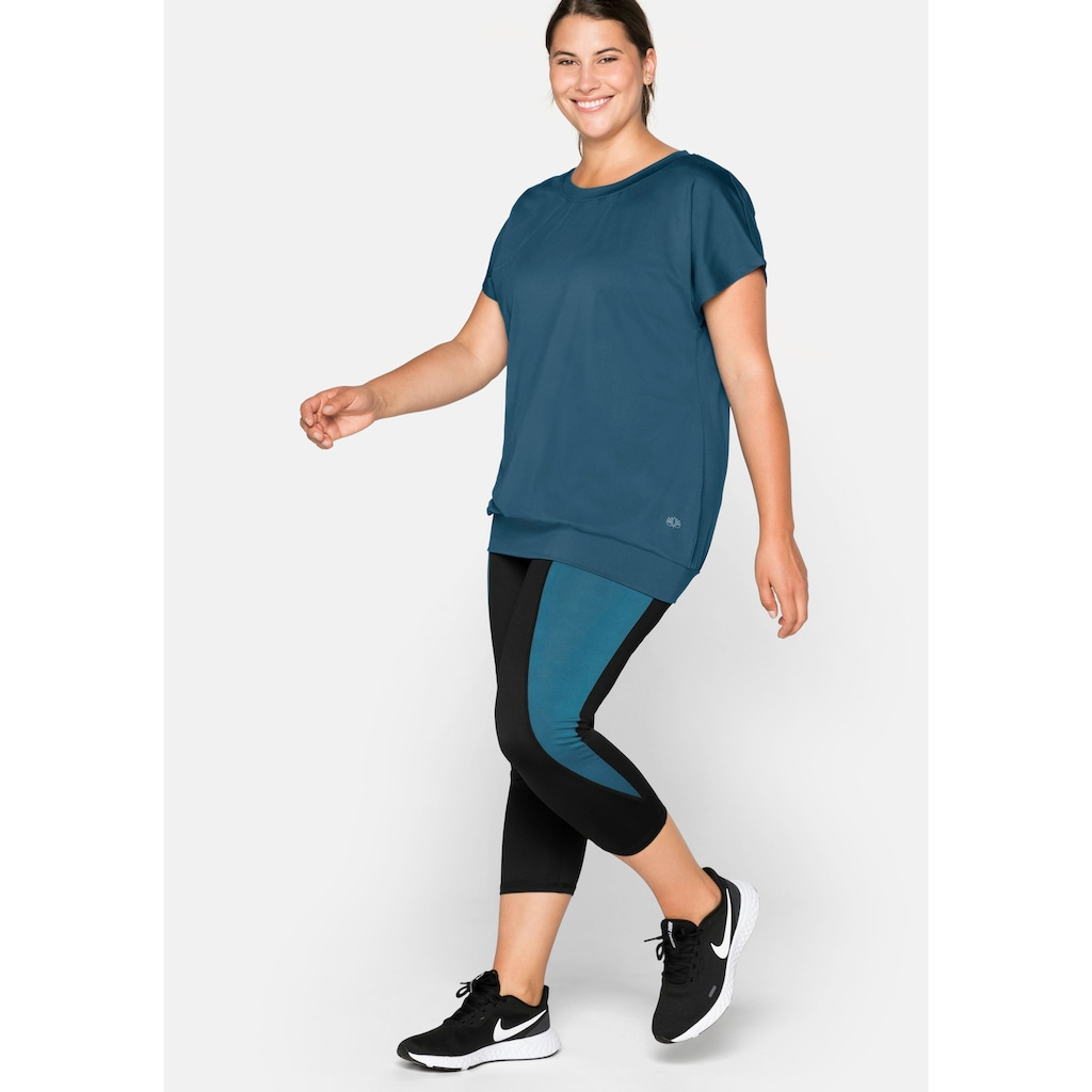 Sheego T-Shirt, aus Funktionsmaterial
