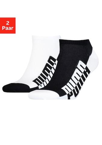PUMA Sneakersocken, (2 Paar), mit grossem Markenschriftzug kaufen