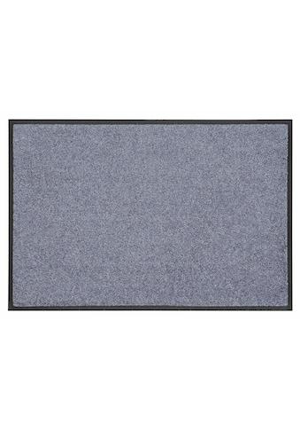 wash+dry by Kleen-Tex Fussmatte »Trend Uni«, rechteckig, 7 mm Höhe, Fussabstreifer,... kaufen