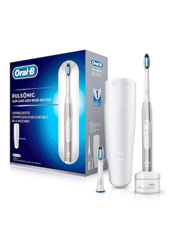 Oral B Schallzahnbürste Pulsonic Slim Luxe 4200, Aufsteckbürsten: 2 Stk. kaufen