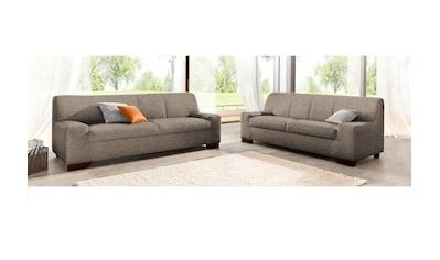 DOMO collection Polstergarnitur, (Set, 2 tlg.), bestehend aus einem 2-Sitzer und einem... kaufen