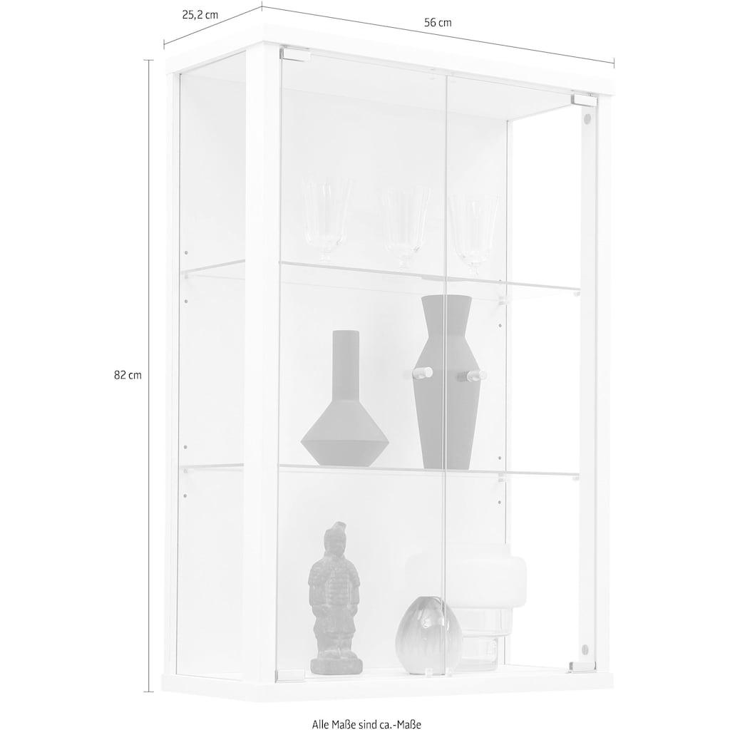 Vitrine »OPTIMA«, mit einer Höhe von 82 cm