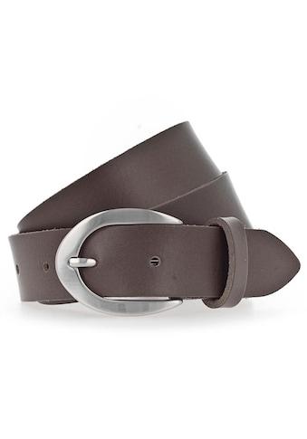 Vanzetti Ledergürtel, mit ovaler Dornschliesse kaufen