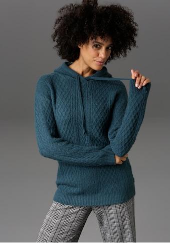 Aniston CASUAL Kapuzenpullover, im Mustermix - NEUE KOLLEKTION kaufen