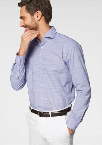 Strellson Langarmhemd »Sereno«, Strukturmuster, Slim Fit kaufen