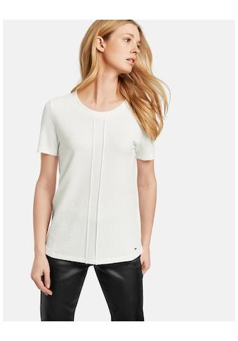 Taifun T - Shirt Kurzarm Rundhals »Shirt aus Struktur - Jersey« kaufen