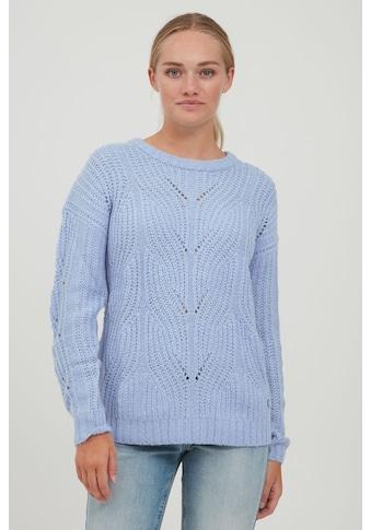 OXMO Strickpullover »Chiara«, Pullover in Fein-Strick Optik kaufen