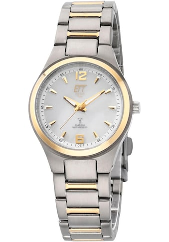 ETT Funkuhr »Everest 2, ELT-11325-10ME«, (Set, 2 tlg., Uhr mit Ladelampe) kaufen