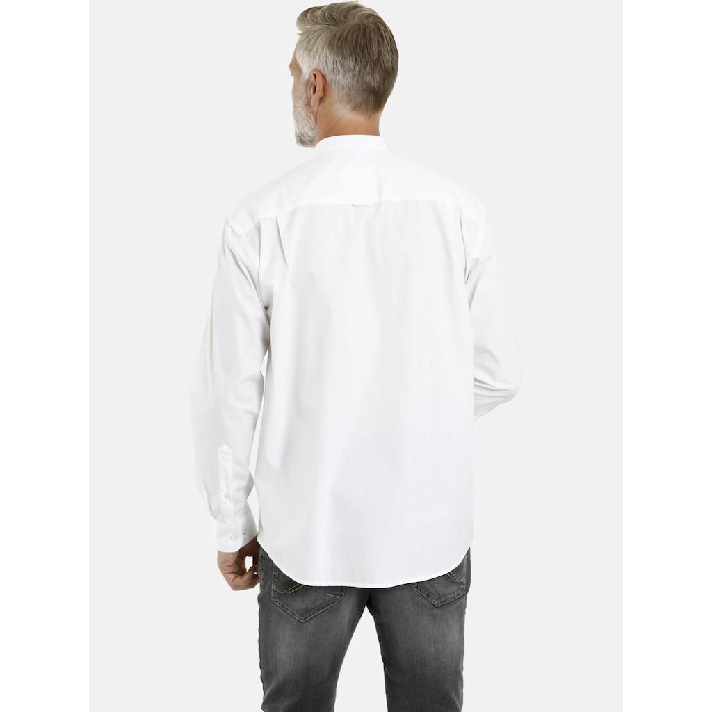 Jan Vanderstorm Langarmhemd »HEIMIR«, (2er-Pack), leichte Baumwollhemden