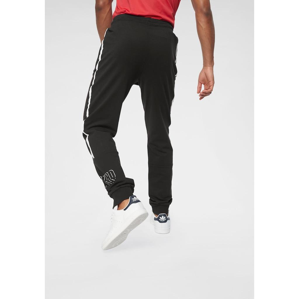 Bruno Banani Jogginghose »2-tlg. Set: Sweatshorts & Jogginghose«, (2 tlg.), im Doppelpack