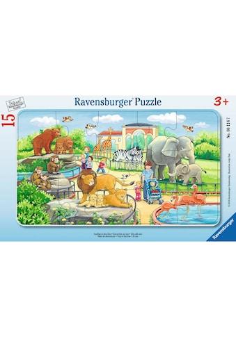 Ravensburger Puzzle »Ausflug in den Zoo« kaufen