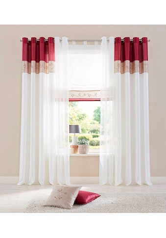 my home Raffrollo »Sorel«, mit Klettband kaufen