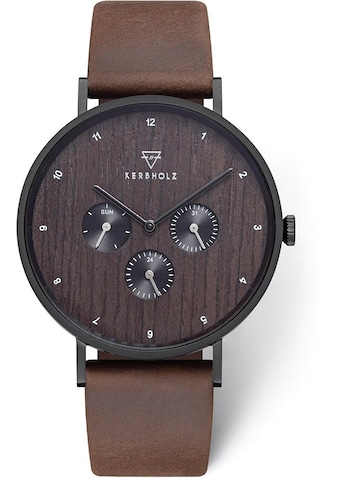 KERBHOLZ Multifunktionsuhr »Caspar Heritage Wood« kaufen