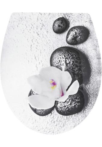 CORNAT WC - Sitz »Wet Stone«, Relief - Motiv kaufen