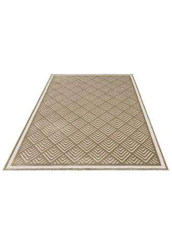 Guido Maria Kretschmer Home&Living Teppich »Liam«, rechteckig, 4 mm Höhe, Seidenglanz... kaufen