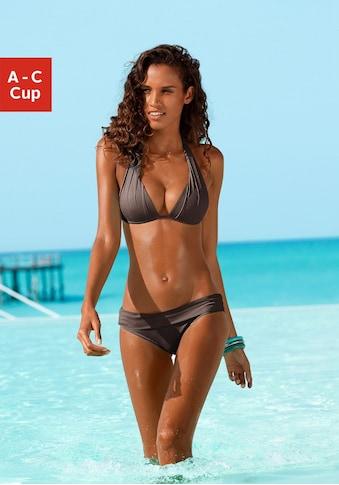 LASCANA Triangel-Bikini, mit Push-Up-Effekt kaufen