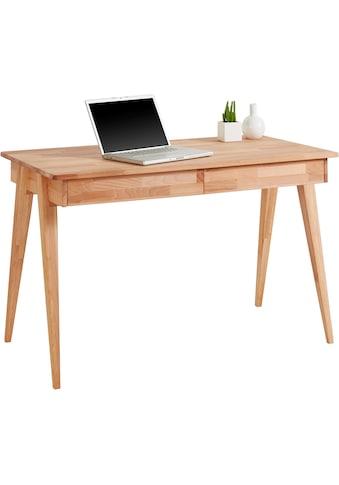 Holzzone Schreibtisch »Harry«, aus Massivholz kaufen