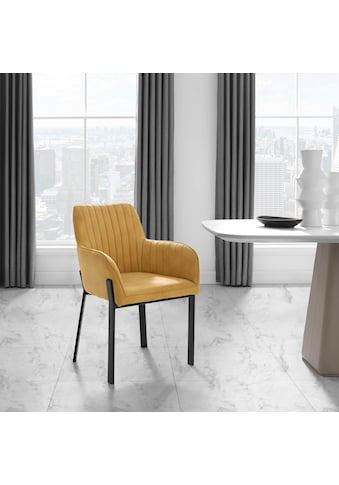 Places of Style Esszimmerstuhl »Maryland«, 2er-Set, Sitz und Rücken gepolstert,... kaufen