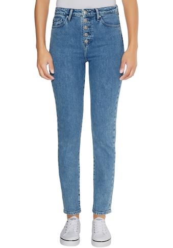 TOMMY HILFIGER Straight - Jeans »RIVERPOINT CIGARETTE HW A BLACK« kaufen