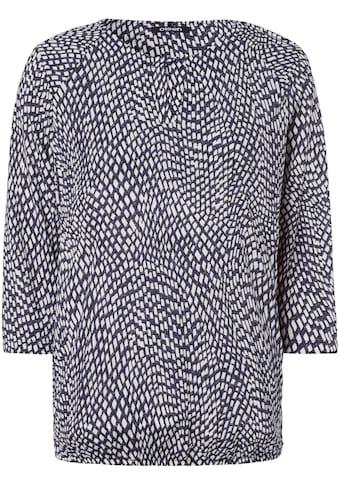 Olsen Print-Shirt, mit elastischem Saum kaufen