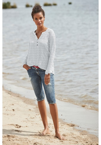 Alife & Kickin Druckbluse »DaisyAK«, süsse Bluse aus reiner Viskose mit Allover-Print kaufen