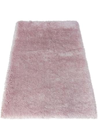 Bruno Banani Hochflor-Teppich »Airis«, rechteckig, 65 mm Höhe, besonders weich durch... kaufen