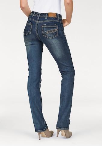 Arizona Gerade Jeans »mit Zippertasche« kaufen